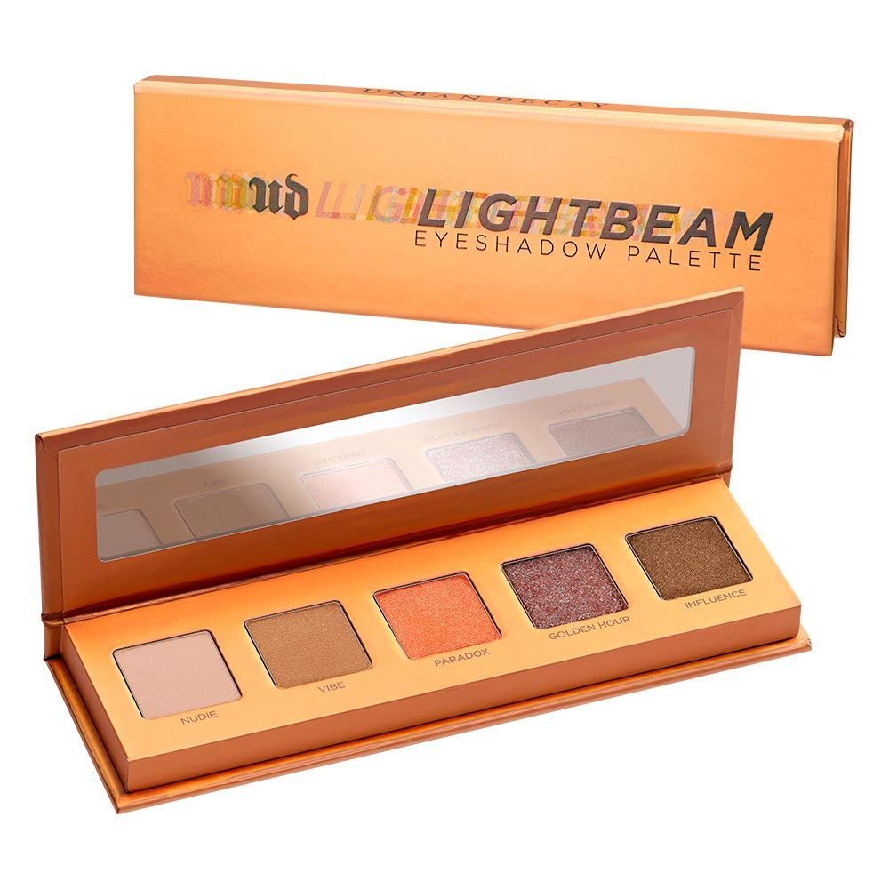 Urban Decay Lightbeam Palette 5 eyeshadows