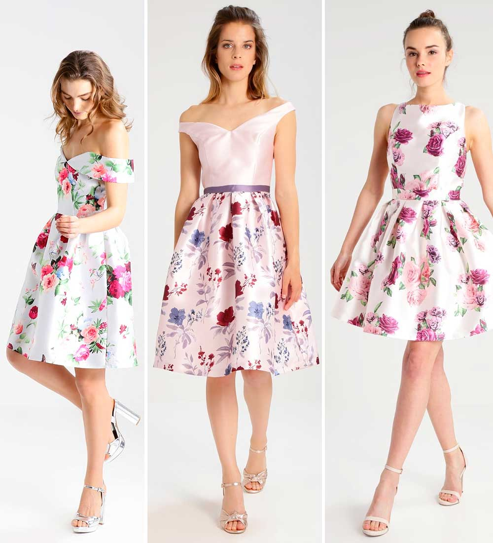 2018 ceremony flowery dresses