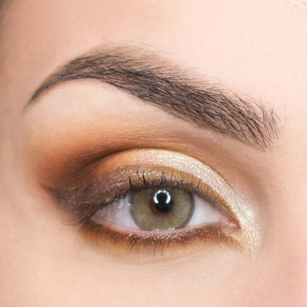brown eyeliner makeup