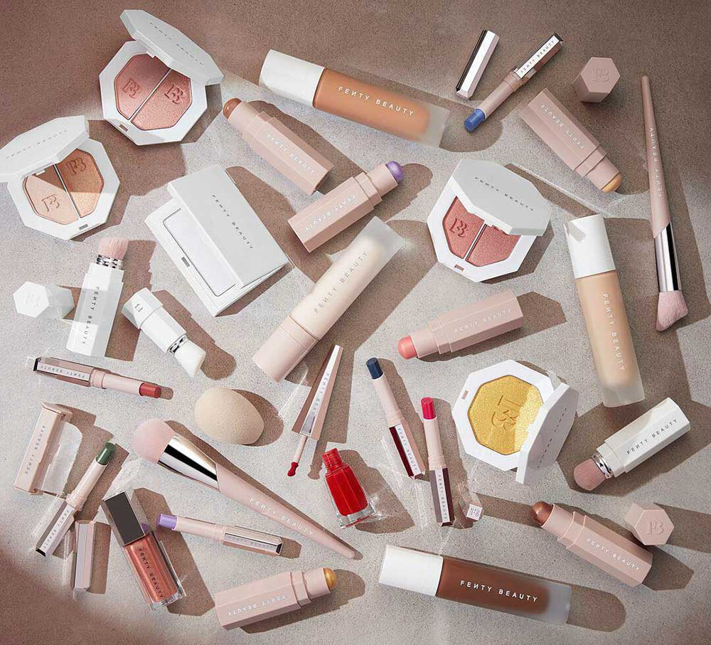 fenty beauty makeup collection