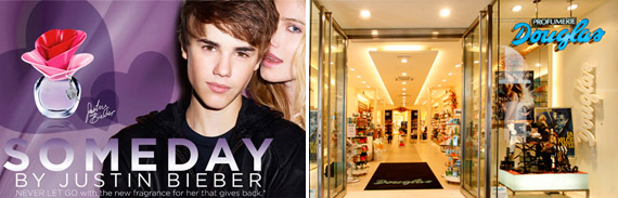 Someday, Justin Bieber's perfume arrives in Italy