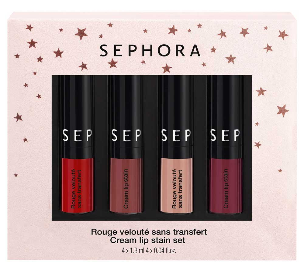 Sephora set of lips Christmas 2017