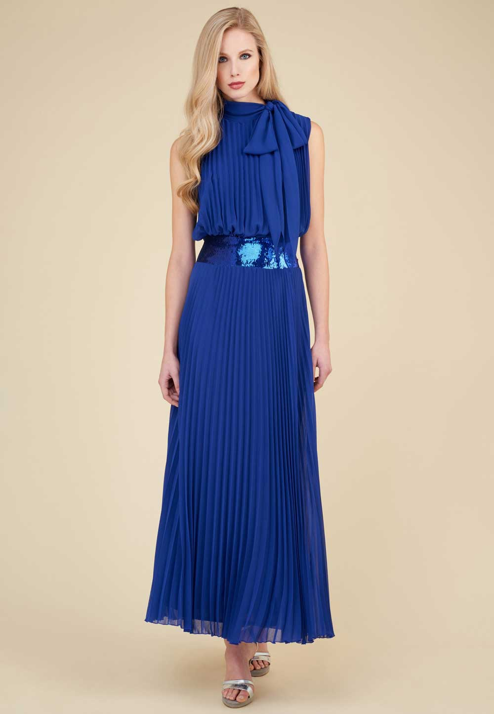 Long dresses for the Luisa Spagnoli ceremony, spring summer 2018