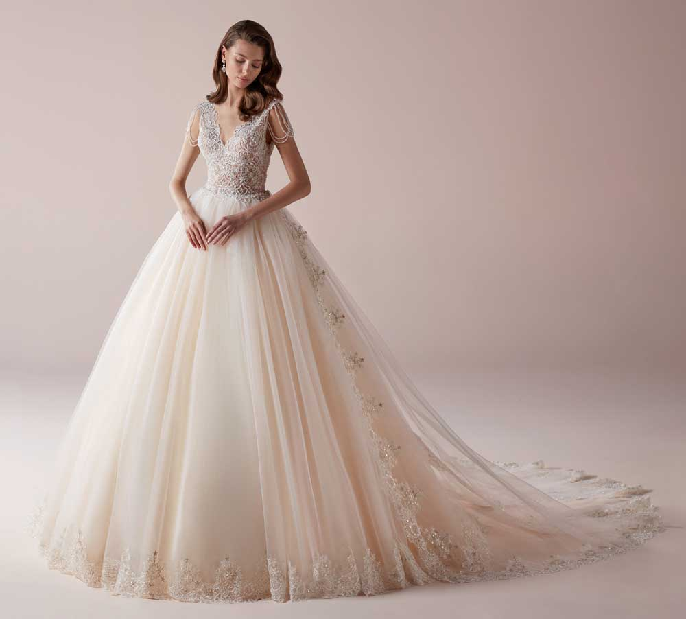 2019 pink wedding dresses