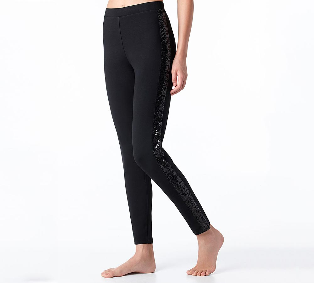 Calzedonia leggings with sequins