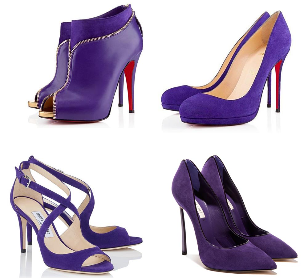 ultra violet shoes 2018