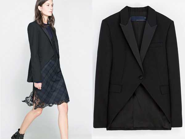zara smoking jacket