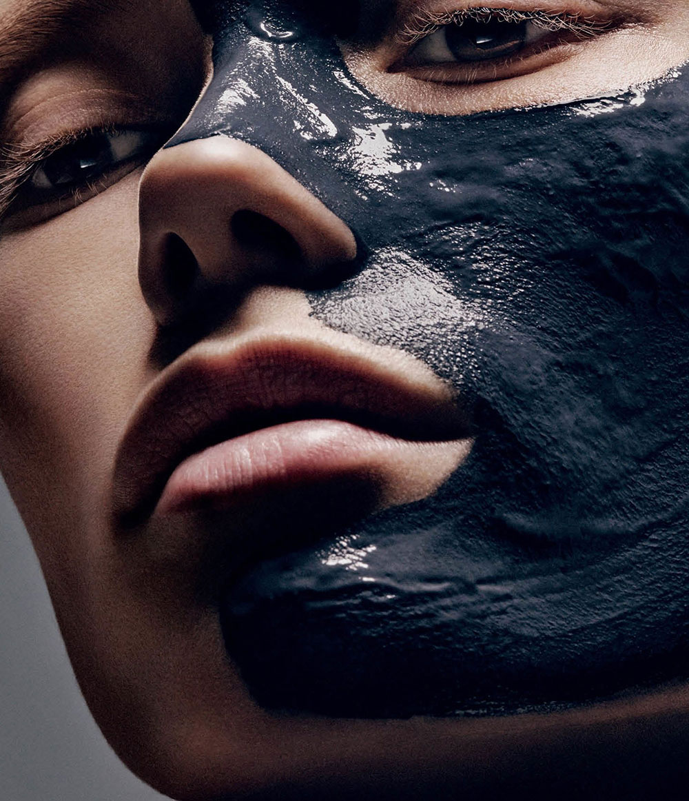 MAC Vegetable charcoal face mask