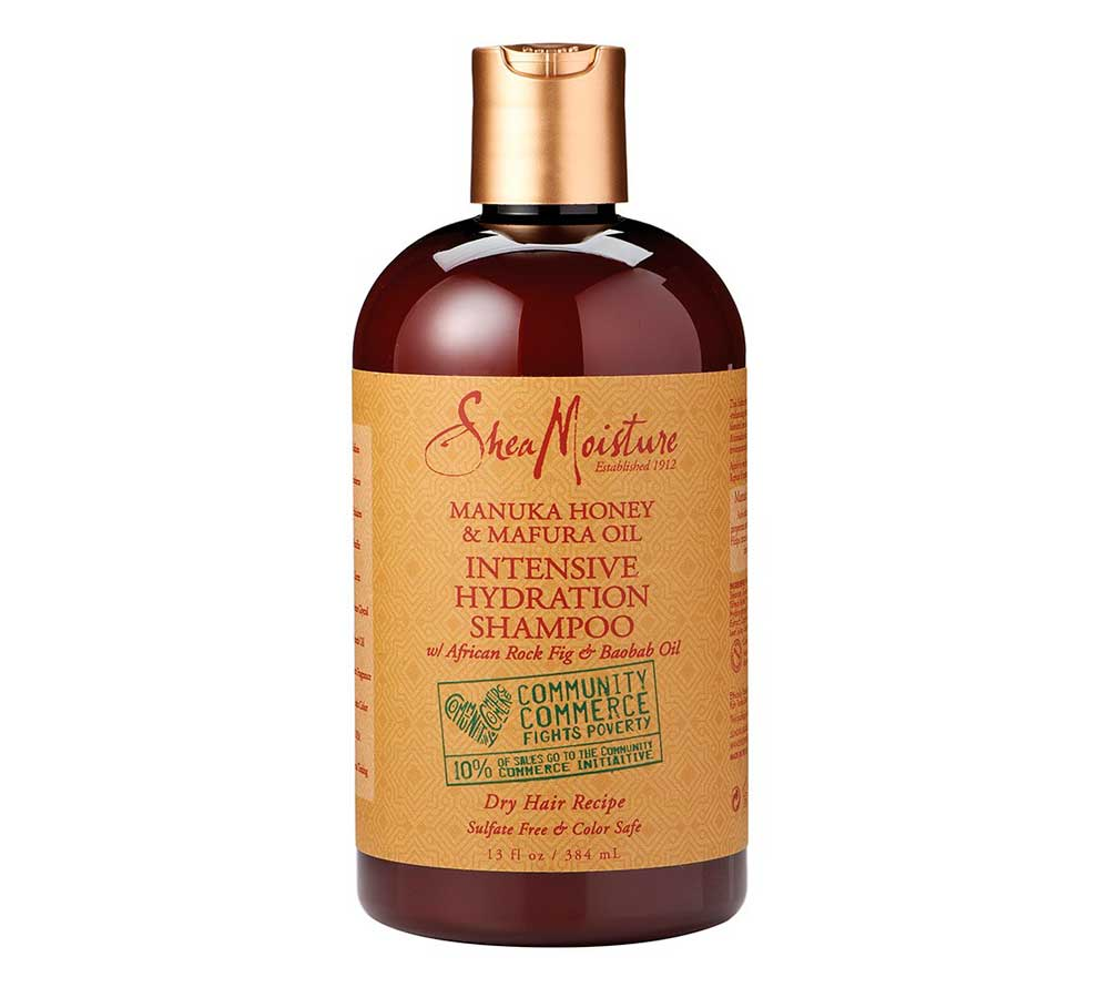 Shampoo for afro Shea Moisture hair