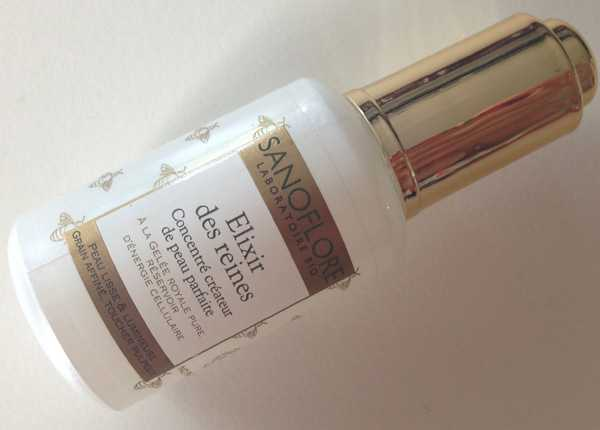 Elixir des reines Sanoflore, serum face, review