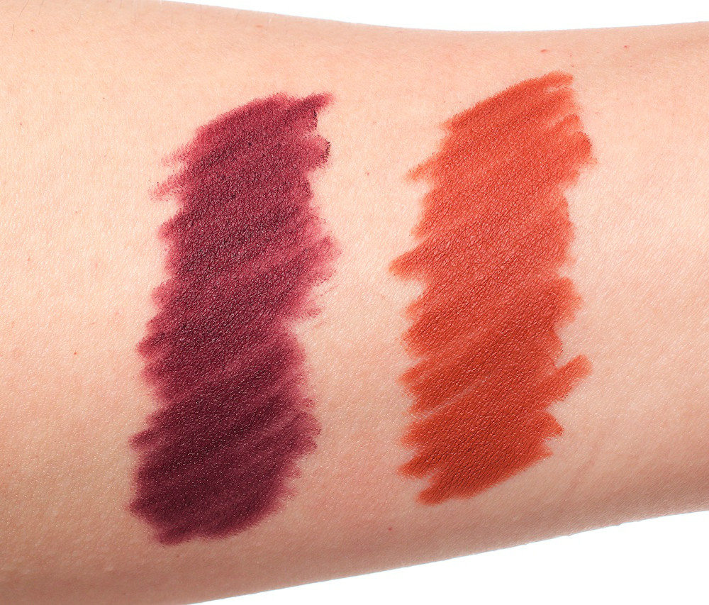 swatches glide on the eye pencil urban decay