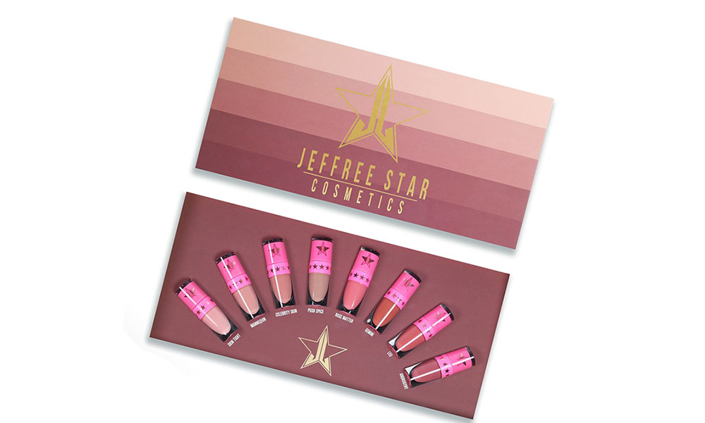 Jeffree Star Christmas gift box 2017