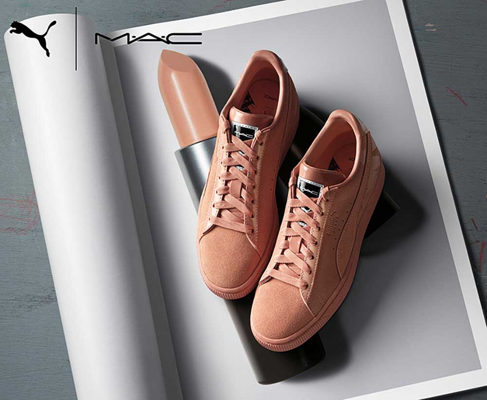 MAC X Puma: sneakers inspired by the most famous lipsticks!