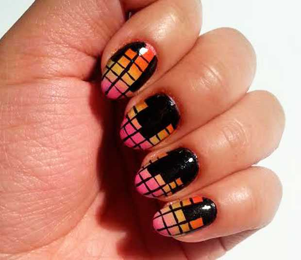 nail art music sound mixer