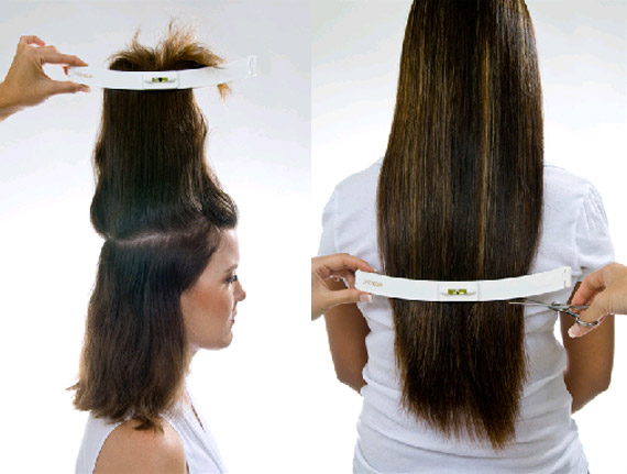 CreaClip to cut your hair