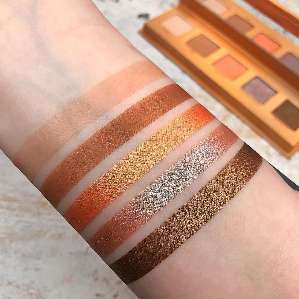 Lightbeam Urban Decay Swatches Palette
