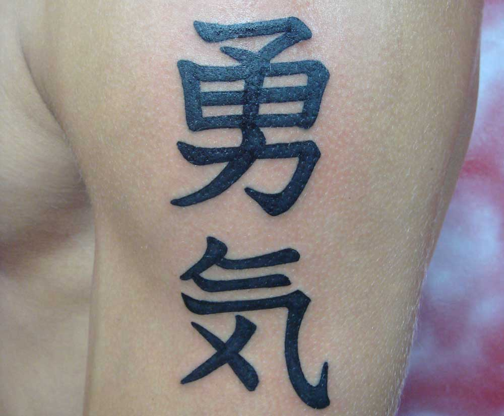Letters tattoos: 100 beautiful photos and ideas
