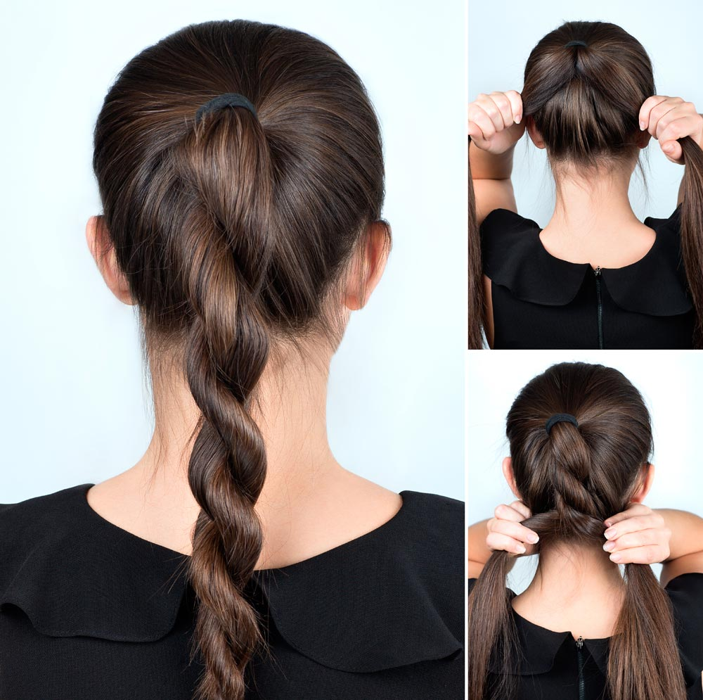 Torchon New Year's hairstyle tutorial