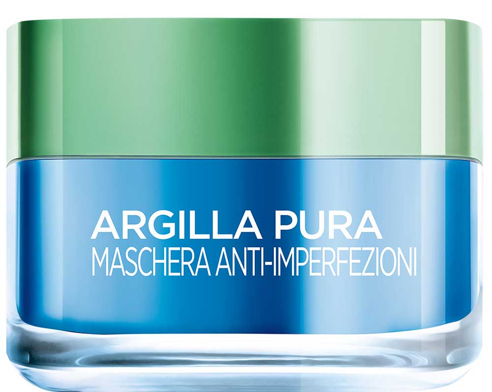 New clay masks Pura L'Oreal: anti imperfections and energizing