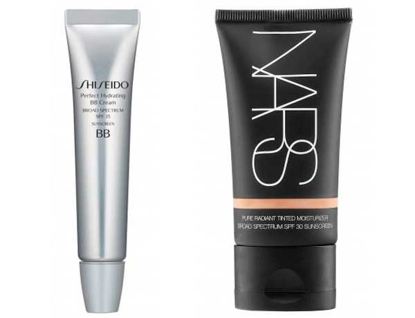 bb cream shiseido cream colored nars