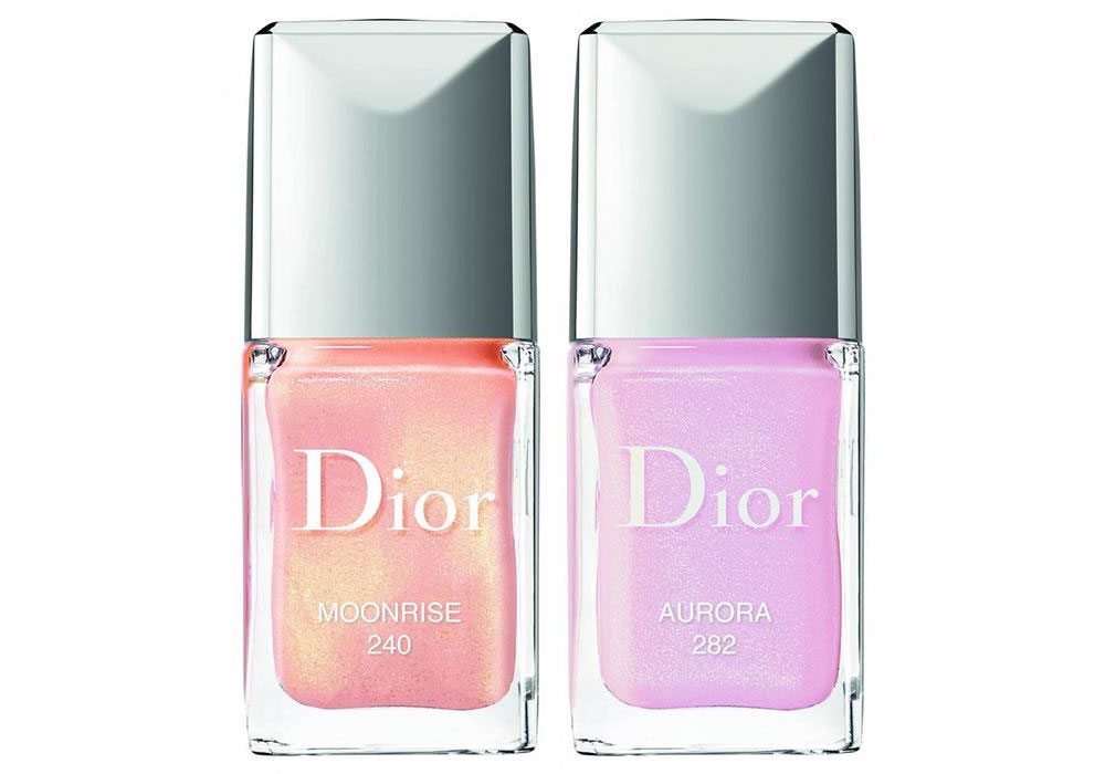 Dior nail polishes Diorsnow