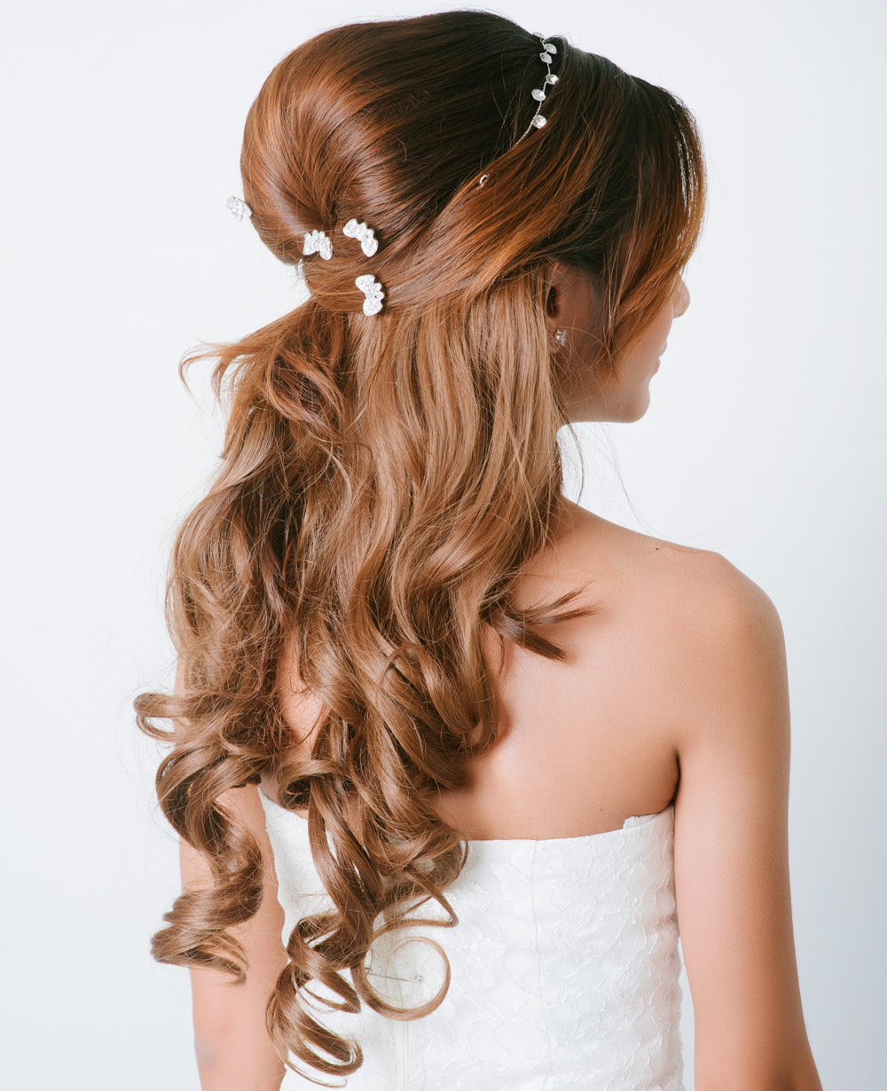 Hairstyle Bride Long Hair Seeds Collected
