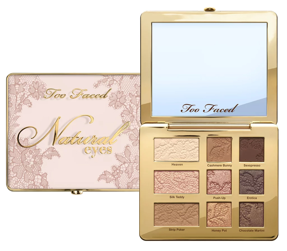 Too Faced It Just Comes Naturally: nude makeup collection