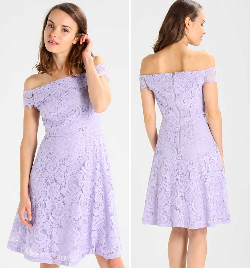 Lilac ceremony dress