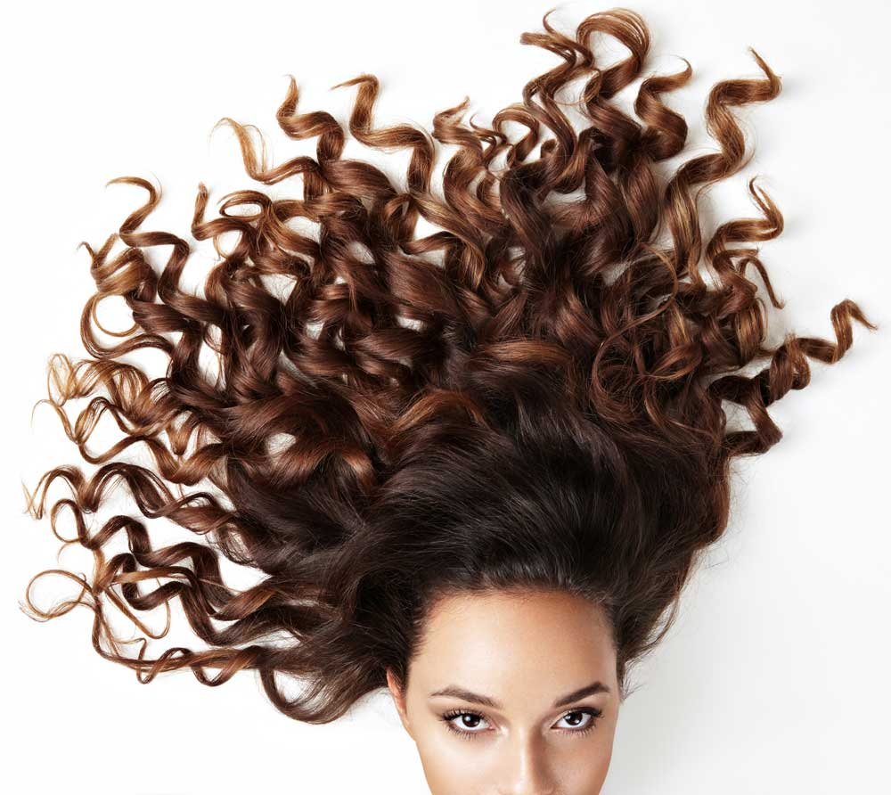 curly hair defined