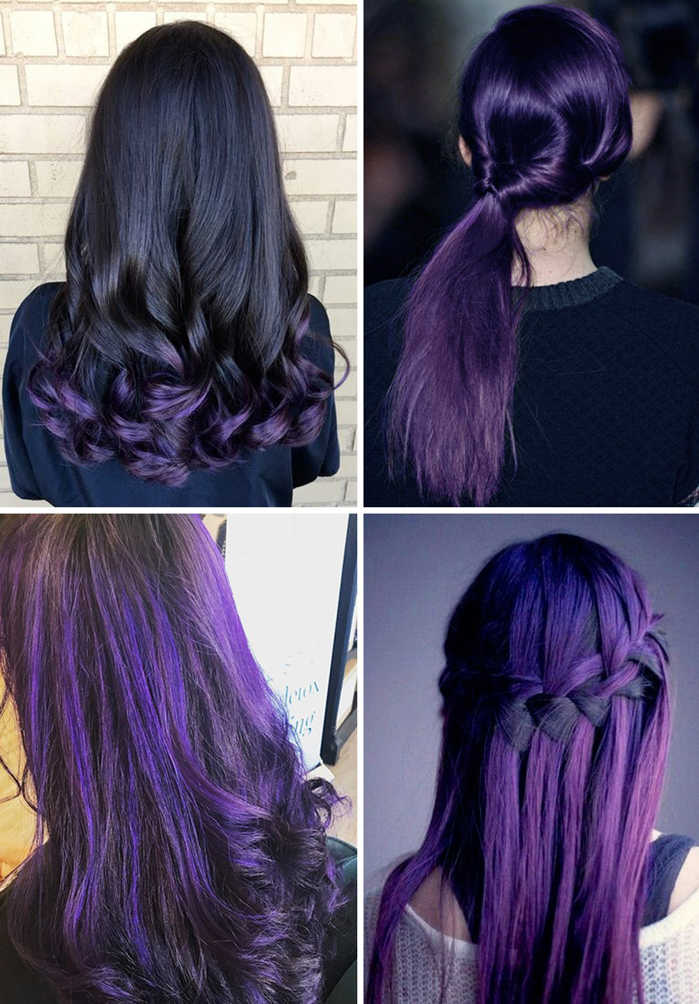 Ultra Violet hairstyles