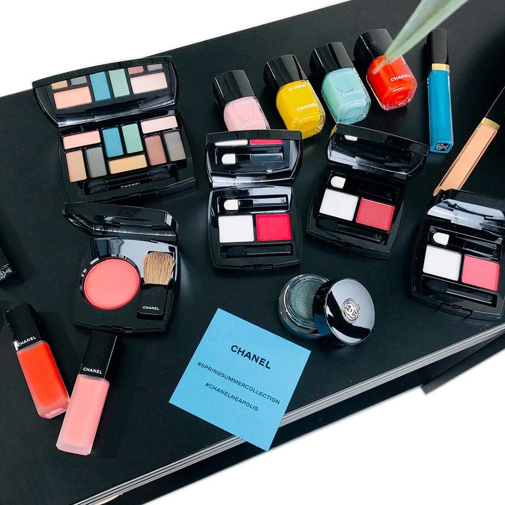 Chanel Neapolis New City: 2018 summer spring makeup