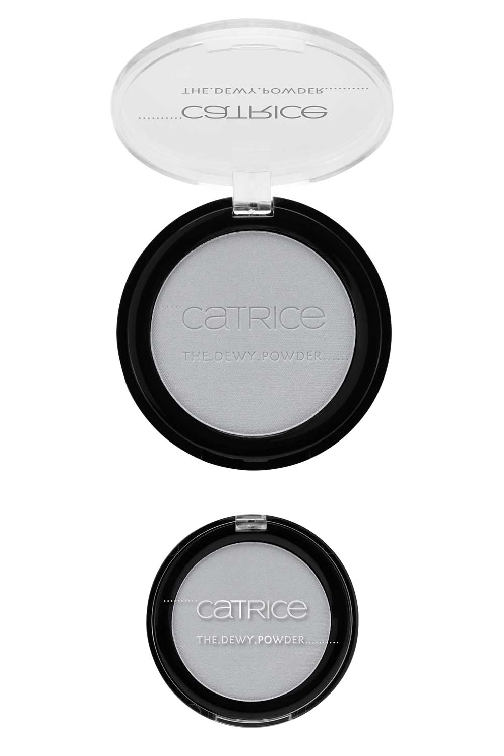 Catrice The Dewy Routine illuminating compact holographic