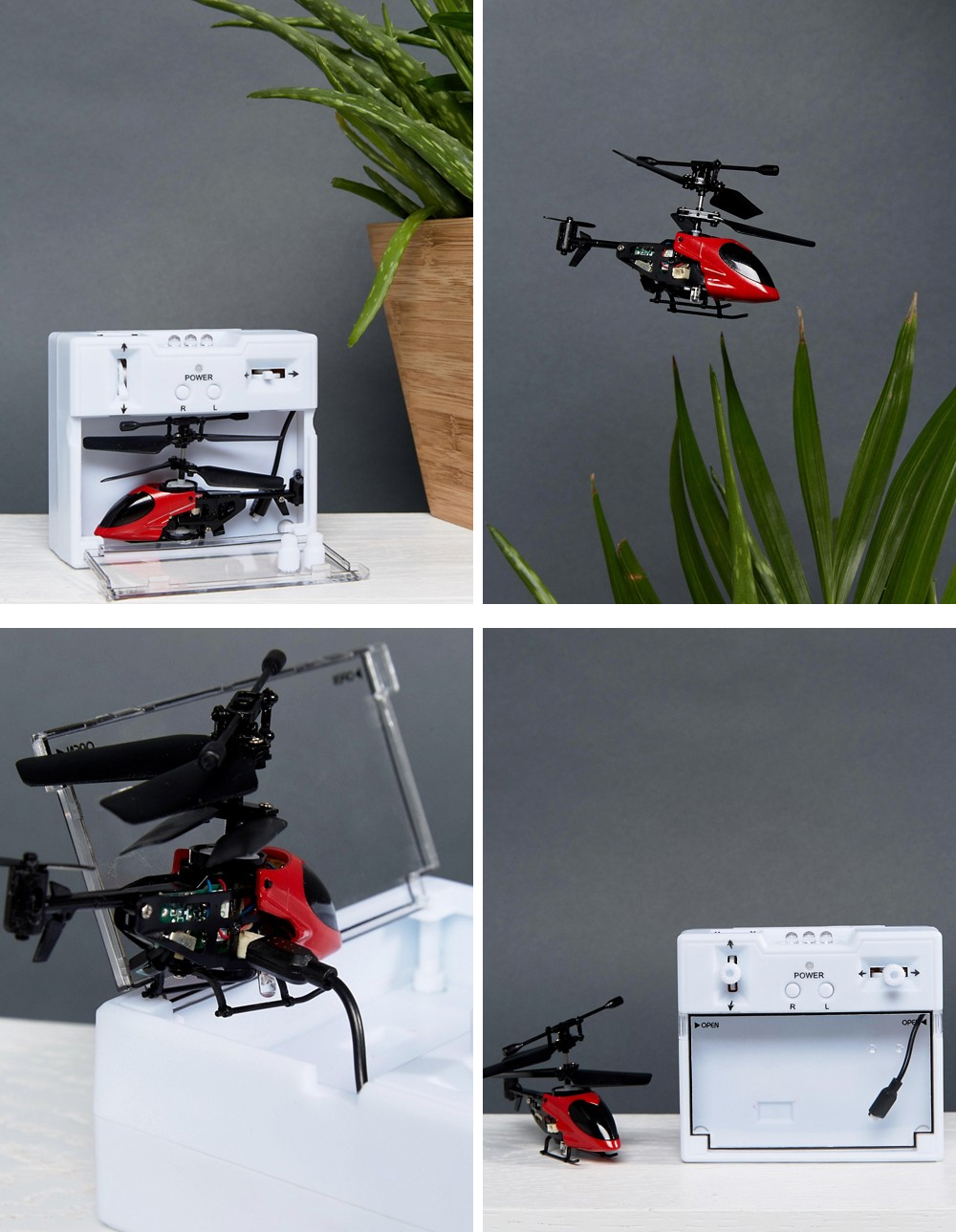 Remote control Valentine helicopter