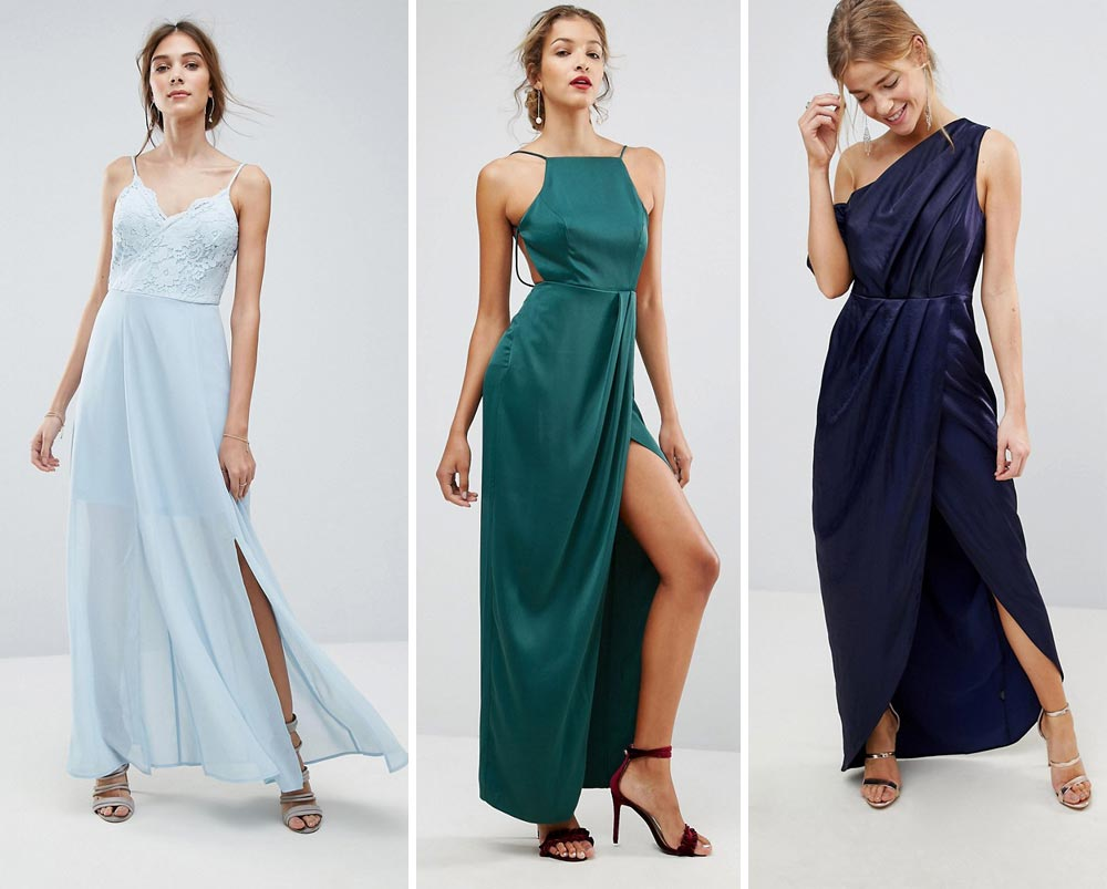 long dresses with slit