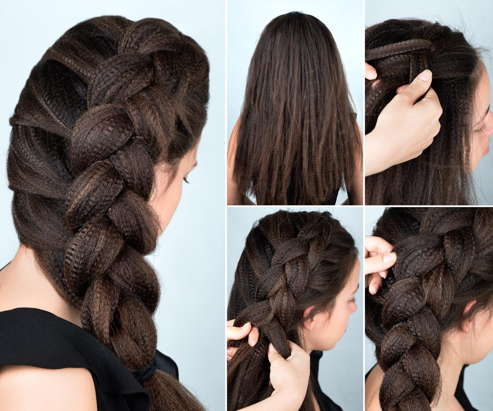 Braid with frisè