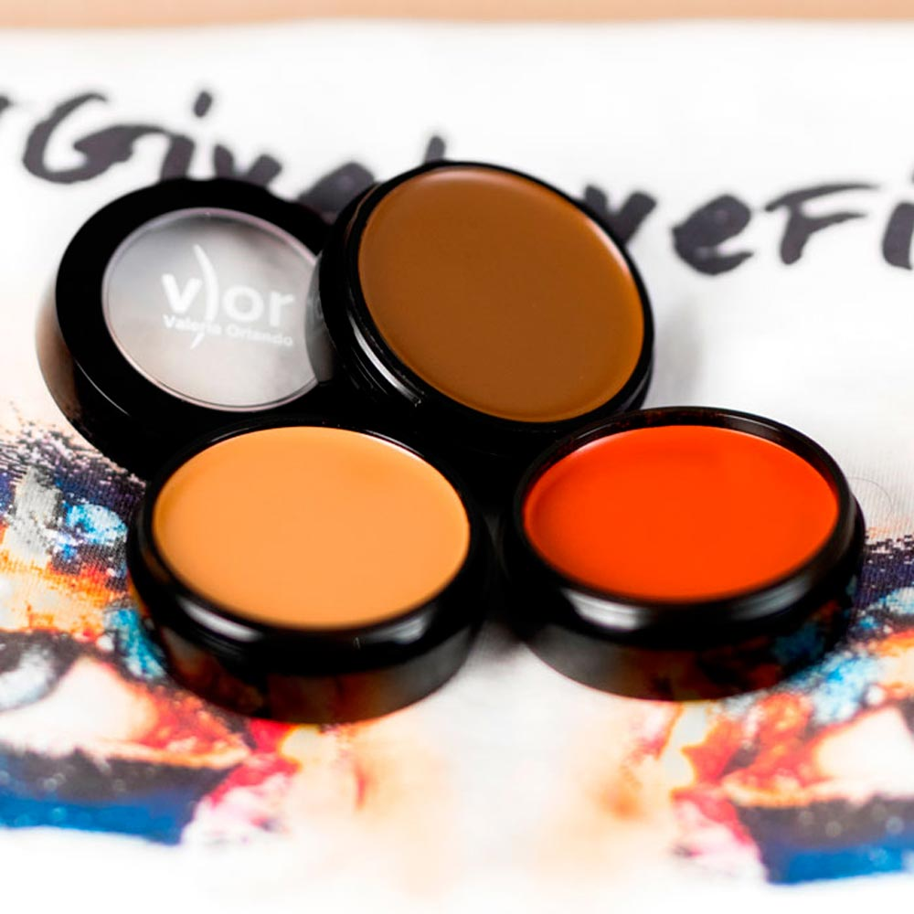 V) OR Make Up: Color Block Face Chart collection