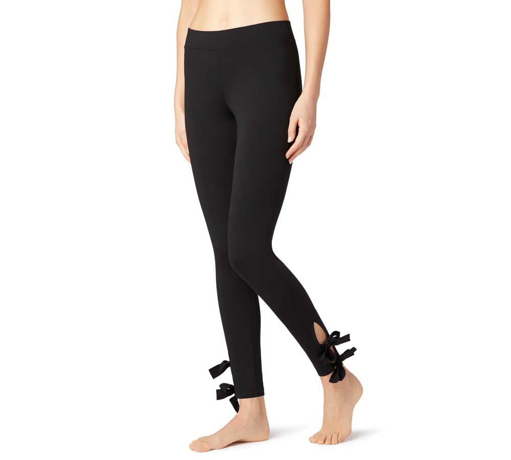 3cece3986e708 Leggings with lace insert (19.95 Euro) Calzedonia Catalog spring summer  2018: Photos and prices
