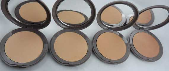 compact foundation snow cosmetics