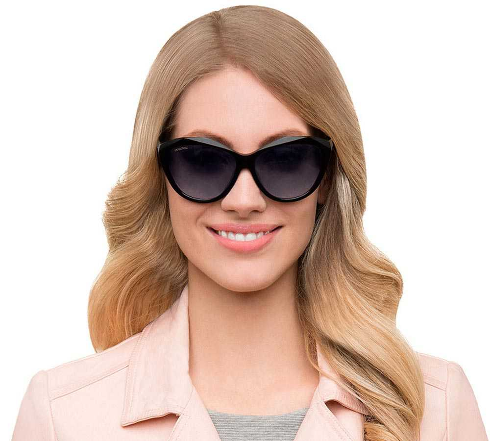 Swarovski smoky lenses sunglasses