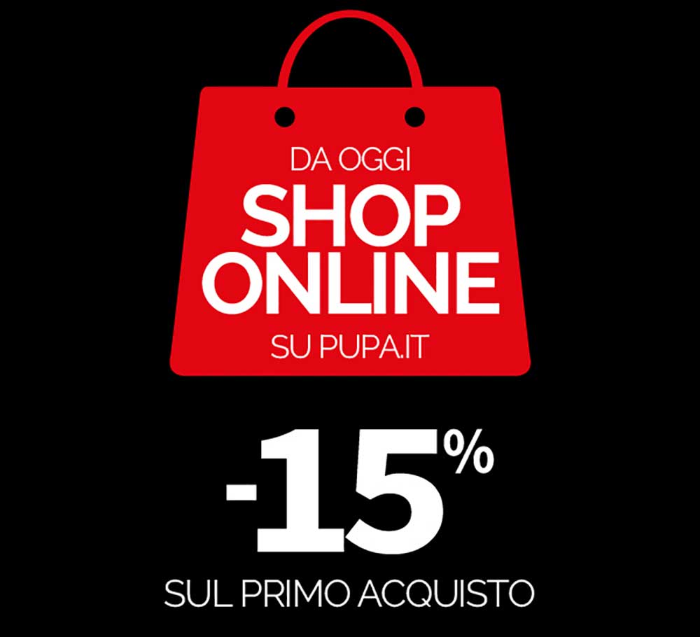 Pupa Official online shop: discounts and gifts for those who buy!
