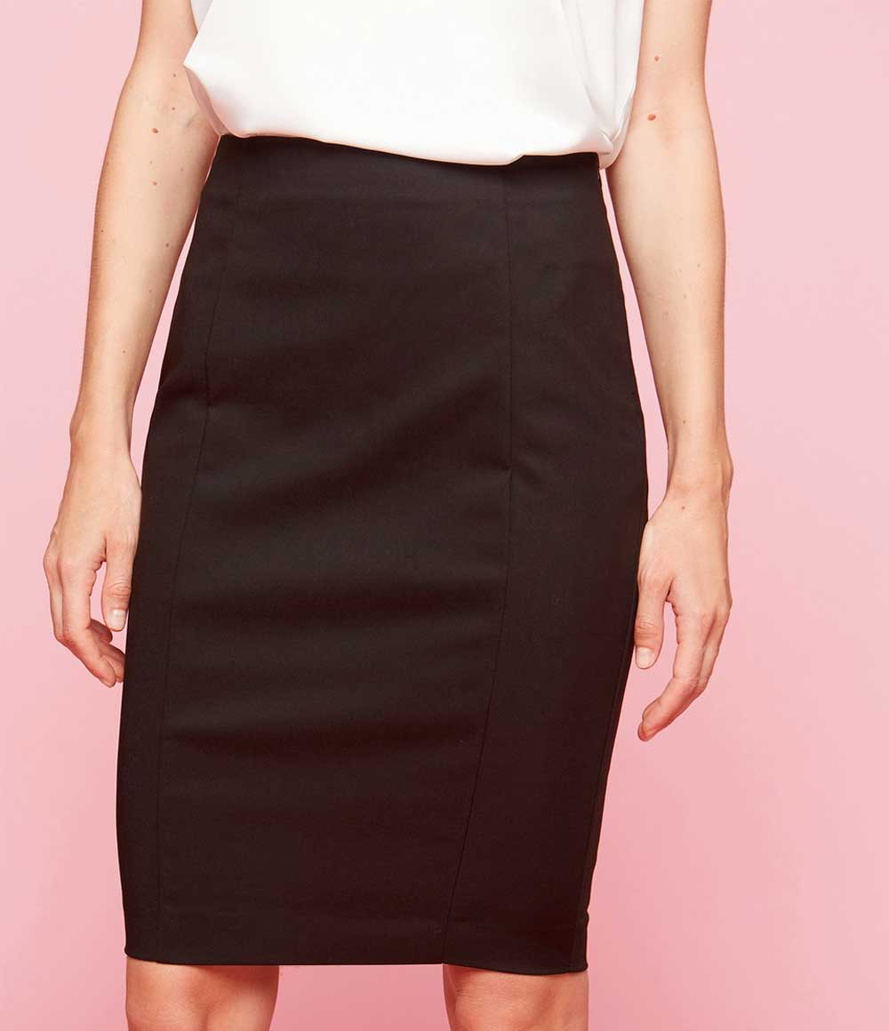 Motivi black skirt
