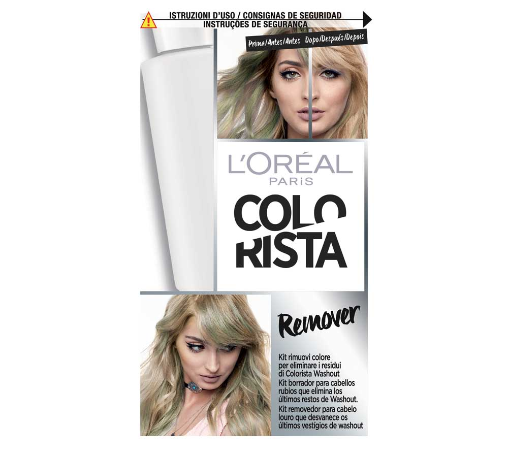 L'Oreal Colorist: new hair colors 2018
