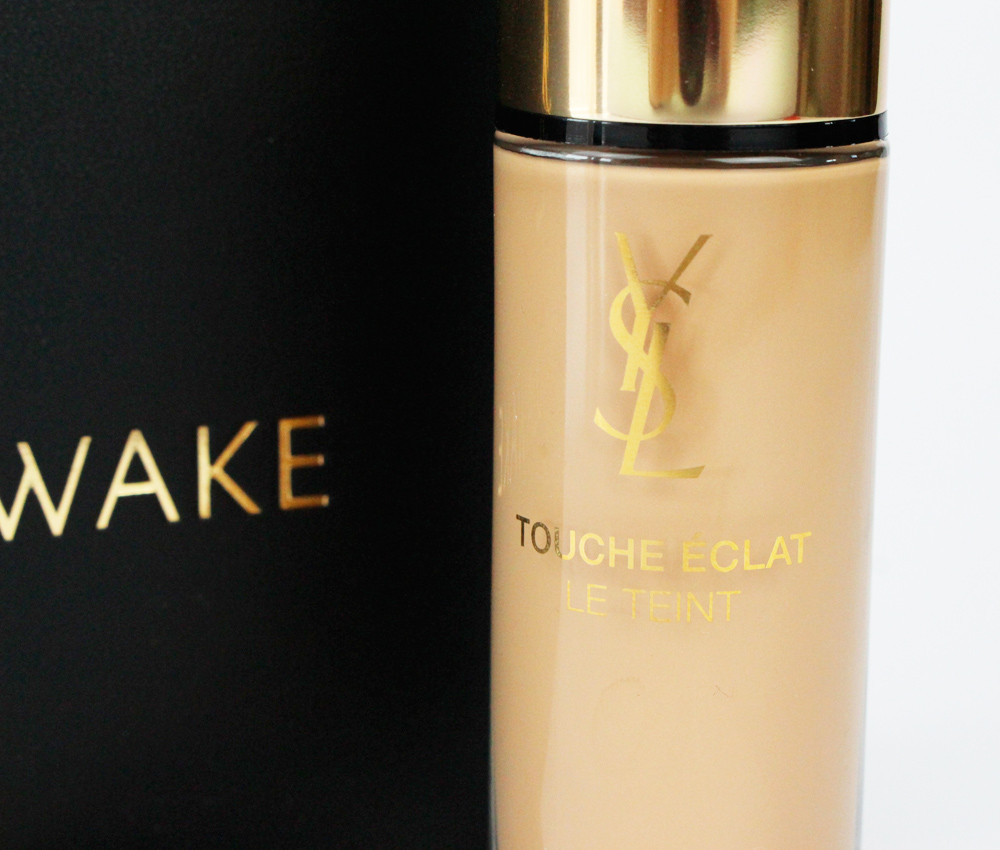 YSL Touche Eclat concealer and illuminating foundation
