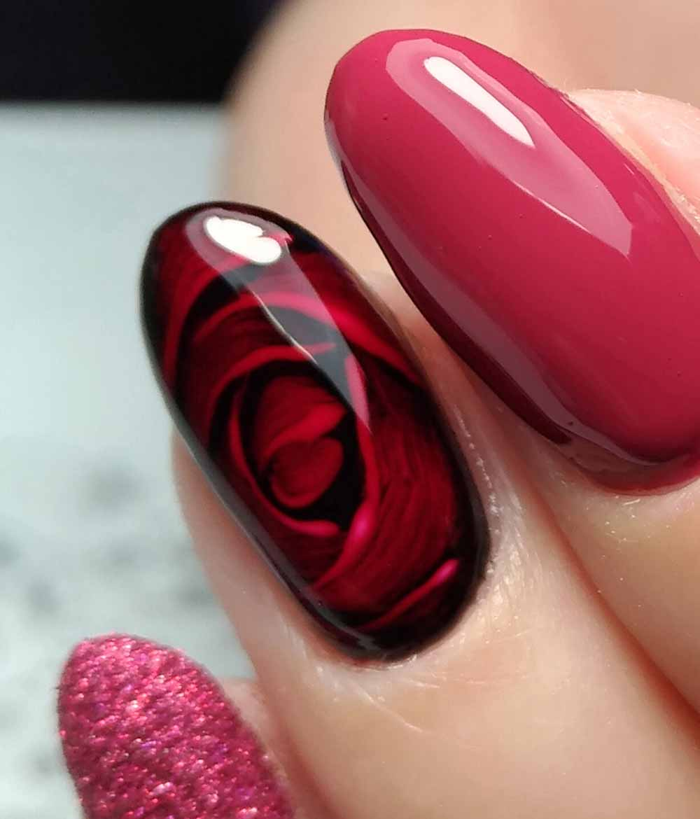 Nail art gel Valentine