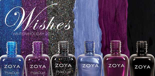 Zoya Wishes Polishes for winter, Christmas and New Year!