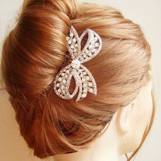 Particular Christmas hairstyle