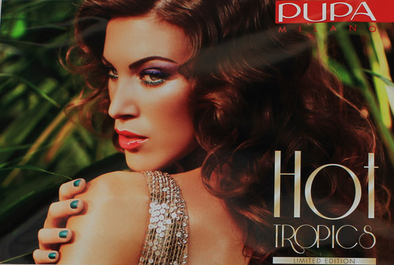 Hot Tropics Pupa: 2012 summer make up collection