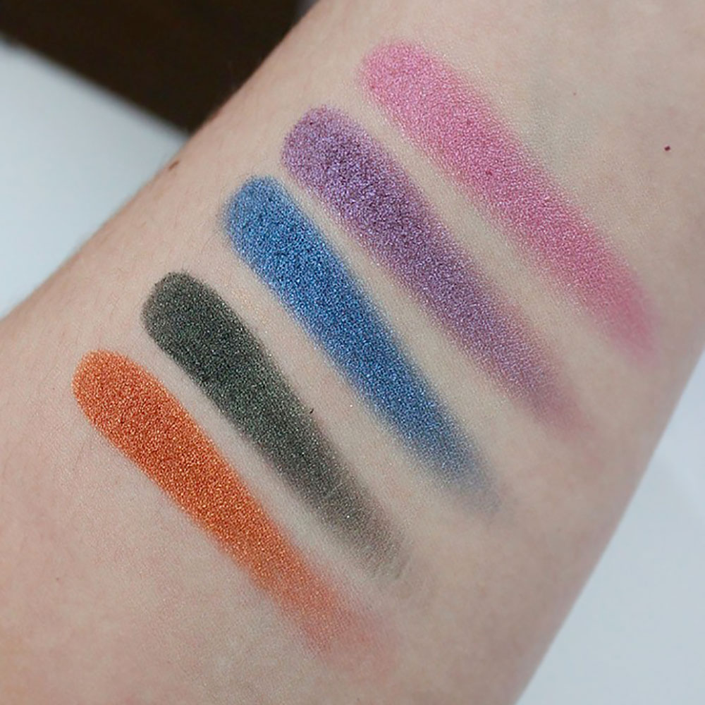 Swatches Urban Decay Distortion Palette