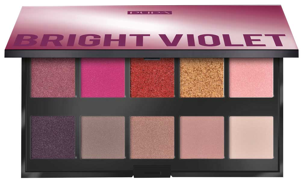 Pupa Make up Stories: 4 make up palette with 10 colors