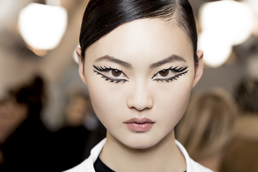 Make up Dior spring summer 2018, Haute Couture fashion show